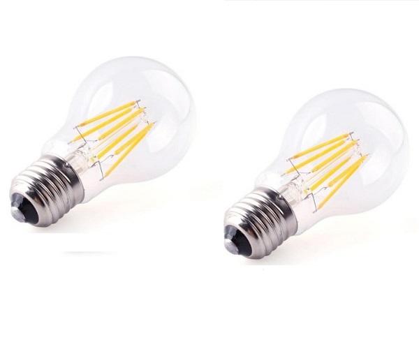 Bộ 5 bóng đèn Led Edison A60 6W đui E27.