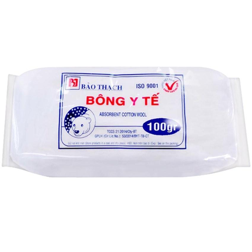 Combo 2 gói Bông Y Tế 100g Bảo thạch