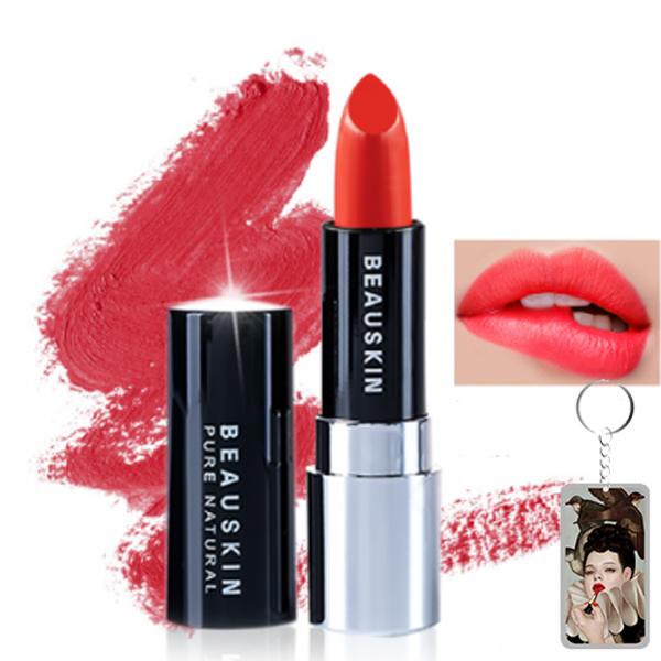 Son thỏi lì Extra Makeup Matte Lipstick Hàn Quốc 3.5g + Móc khóa
