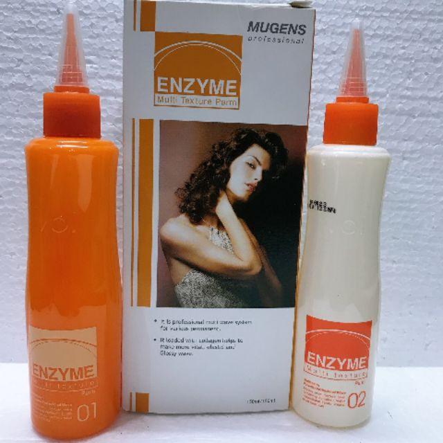 Thuốc Uốn Tóc Lạnh Thảo Dược Đa Năng Enzyme Multi Texture 2x150ml ( Uốn Nóng & Uốn Lạnh) + Tặng Lược