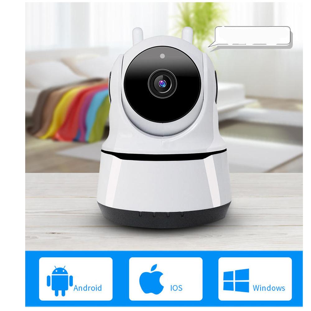 Carecam IP -Camera Wifi Trong Nhà  PAF 200 - Xoay Theo Chiều Chuyển Động - Hỗ Trợ Đàm Thoại 2 Chiều, Hồng Ngoại Ban Đêm, Dùng APP CARECAM PRO - Hàng Nhập Khẩu