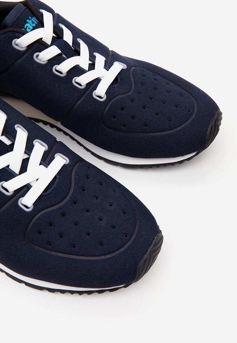 Giày Sneakers Unisex Native AD CORNELL (211052004195) REGATTA BLUE/ SHELL WHITE/ BONE WHITE/ JIFFY RUBBER