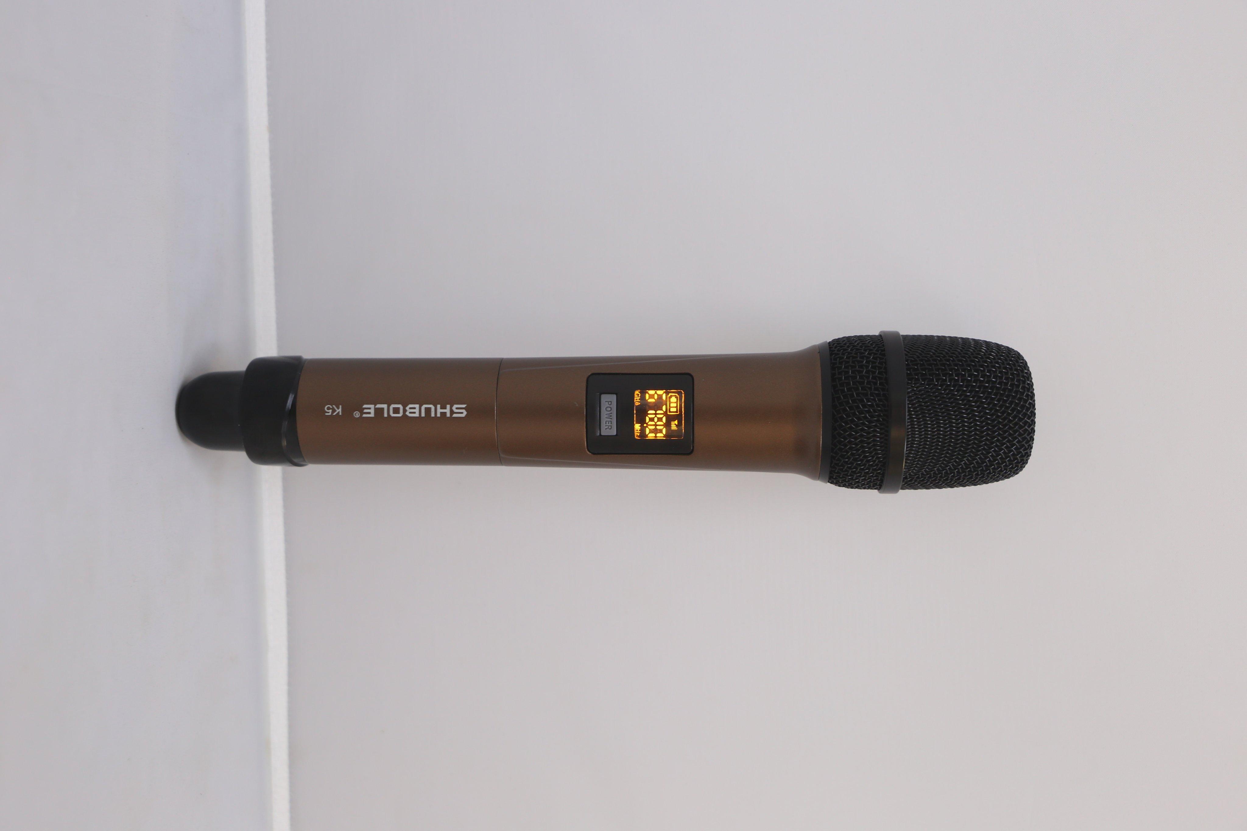 Micro Không Dây Shubole K5 (1 Mic) - Hàng Chính Hãng