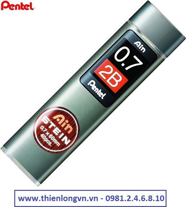 Ruột chì kim 0.7mm Pentel - Ainstein C277-2B