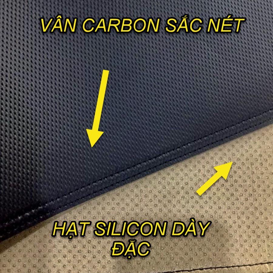 THẢM TAPLO DA VÂN CARBON DÀNH CHO NISSAN NAVARA 2015 -2020