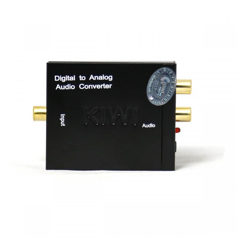 Bộ chuyển đổi âm thanh Quang Optical sang Audio AV Kiwi KA–02 - Hàng Chính Hãng