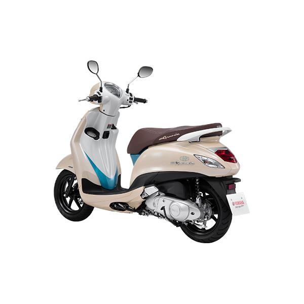 Xe máy Yamaha Grande Hybrid 2019 - Special Edition - Trắng Sữa