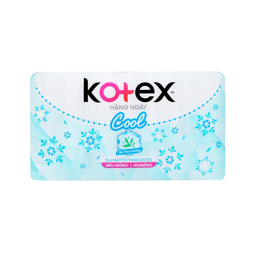 Combo 6 bvs Kotex Liner siêu mỏng 40 miếng