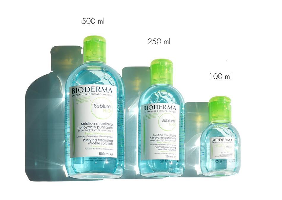 Tẩy trang BIODERMA SEBIUM H20 Dành Cho Da Dầu Mụn (500ml) - VIVALUST COSMETICS - Hàng Chính Hãng