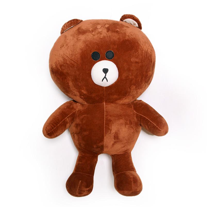 Gấu bông brown cao cấp khổ vải 1M2