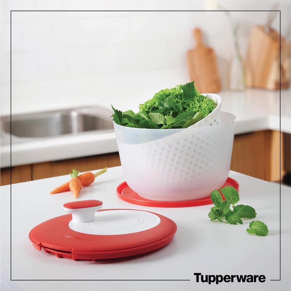 Rổ quay rau Spinning Chef Tupperware