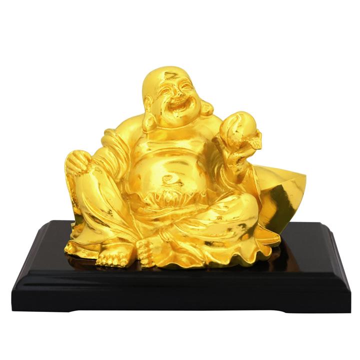 Tượng Đức Phật Di Lặc ngồi mạ vàng  - quà tặng ý nghĩa và độc đáo cho sếp, đối tác hay bạn bè, người thân...