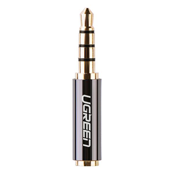 Đầu Chuyển Đổi Ugreen 3.5mm Dương Sang 2.5mm Âm 20502 - Hàng Chính Hãng