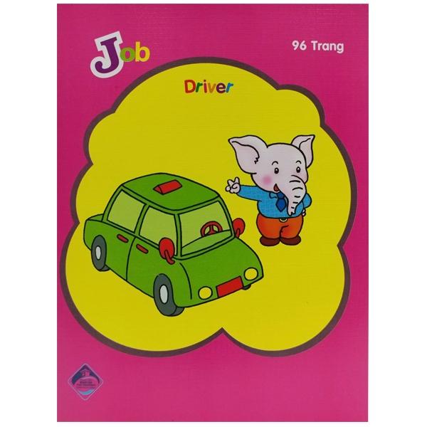 Bộ 4 Tập Job 96 Trang - ĐL60 - Mẫu 4