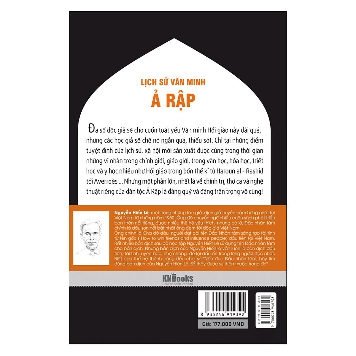 Lịch Sử Văn Minh Ả Rập (Tặng kèm Bookmark PL)