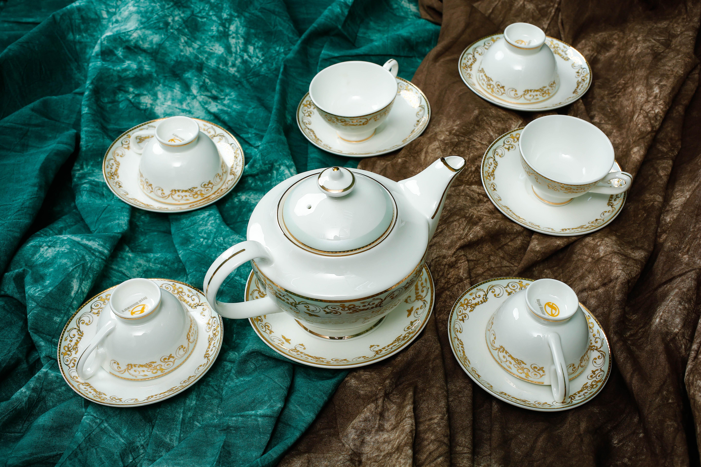 Bộ tách trà Sứ Xương Royal Houseware 80-980ML 148401