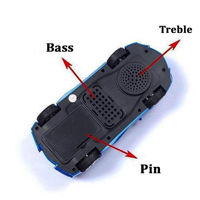 Loa Bluetooth Không Dây Kiểu Dáng Siêu Xe Cao Cấp