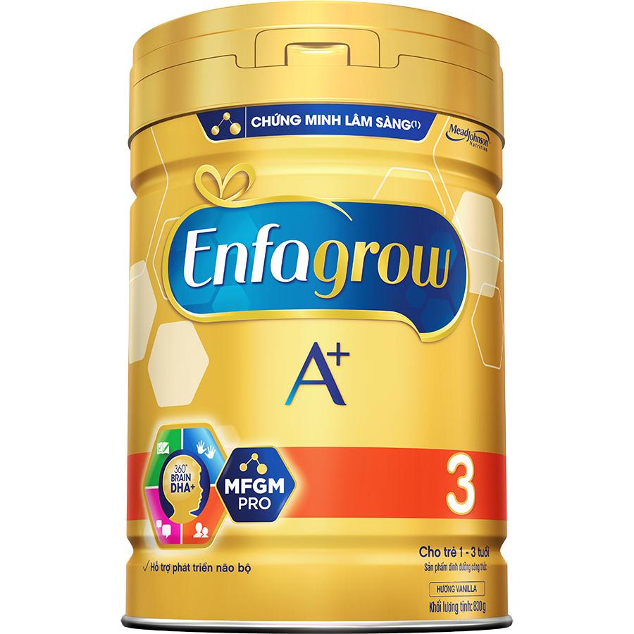 Hình ảnh Sữa Bột Enfagrow A+ 3 (830g)