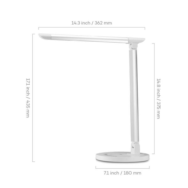 Đèn LED Chống Cận 12W TaoTronics TT-DL13- MÀU TRẮNG BẠC