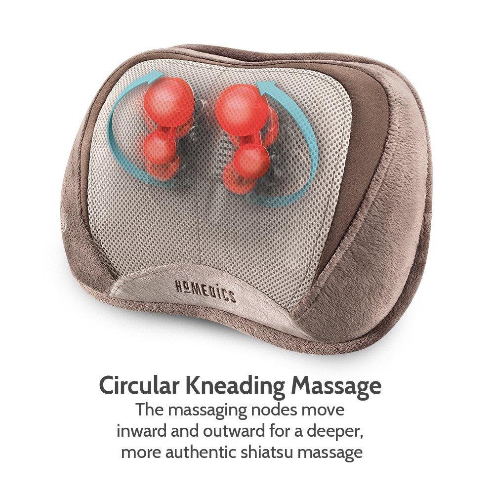 Gối massage USA công nghệ 3D Shiatsu HoMedics SP-100HA nhập khẩu chính hãng USA
