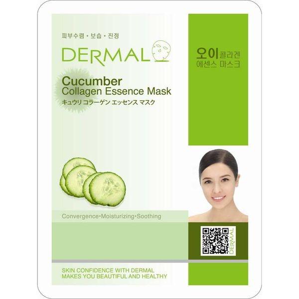 Mặt nạ dưỡng da tinh chất dưa leo Dermal Cucumber Collagen Essence Mask 23g