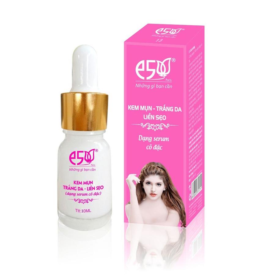Kem mụn trắng da liền sẹo E5 -10 ml (serum cô đặc)