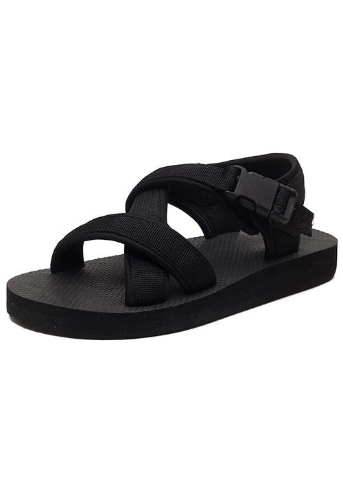 Dép sandal nam quai chéo đế siêu nhẹ LAHstore, chất liệu quai dù bền chắc, thời trang phong cách trẻ
