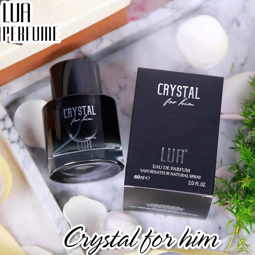 Nước hoa nam LUA Crystal for him chính hãng
