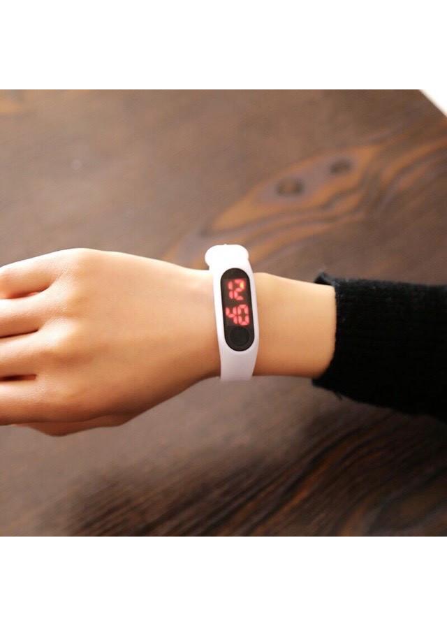Đồng hồ unisex thể thao dây silicon trẻ trung năng động