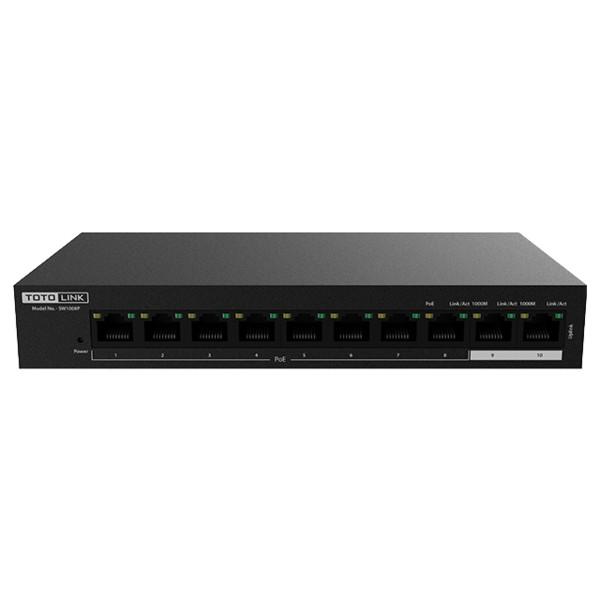 Bộ chuyển đổi 10-Port 10/100Mbps PoE Powered -SW1008P - Hàng Chính Hãng