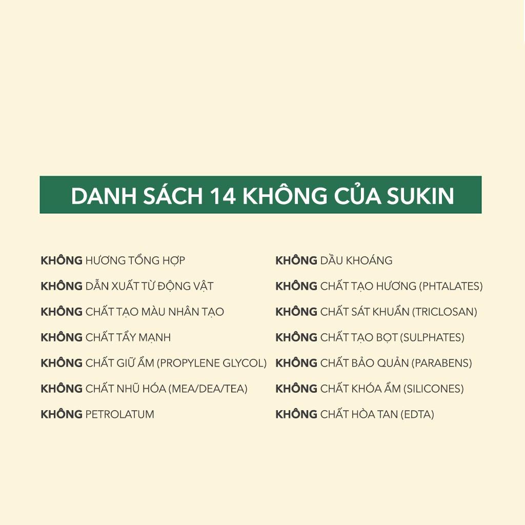 Nước Tẩy Trang Sukin Micellar Cleansing Water 500ml