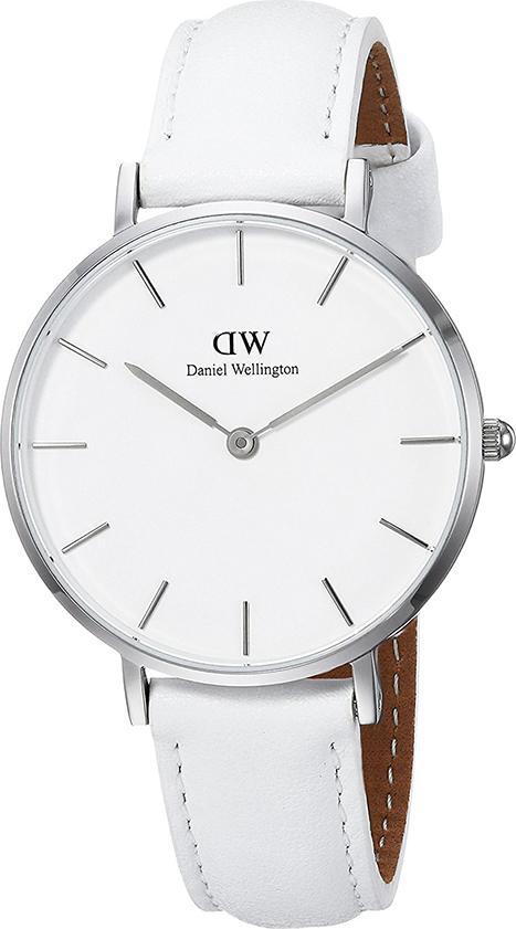 Đồng Hồ Thời Trang Nữ Dây Da Daniel Wellington DW00100190 (32mm) - Trắng