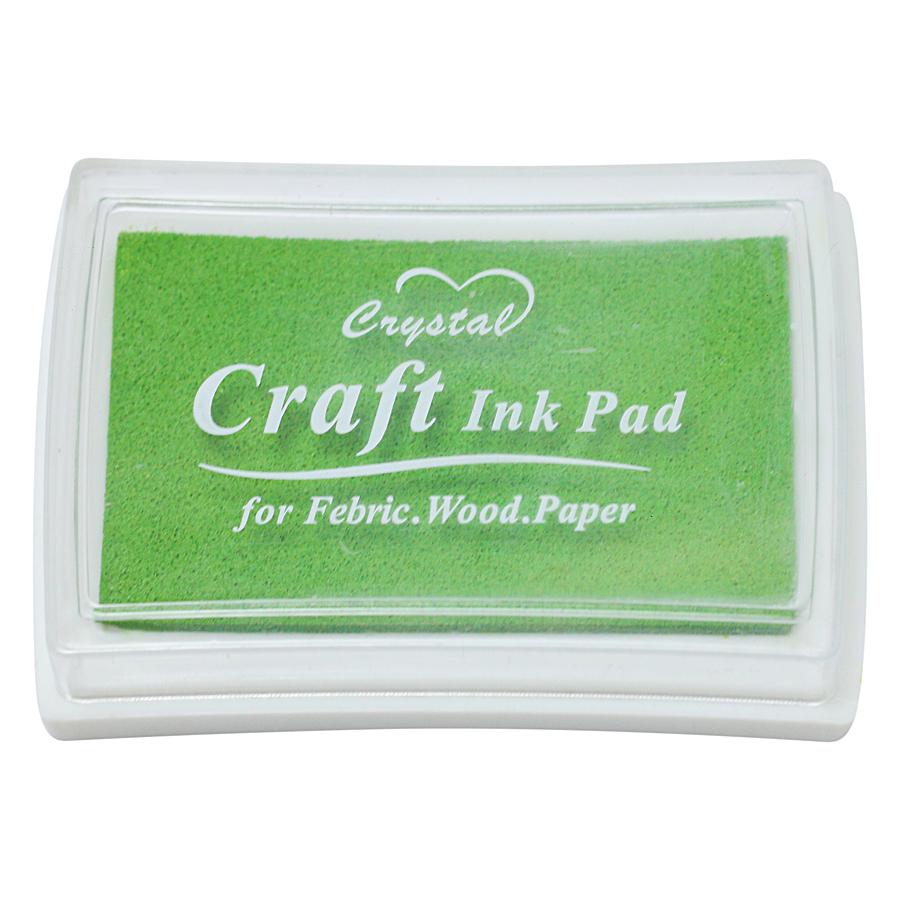 Hộp Mực Dấu Craft Ink Pad - Màu Xanh Lá Nhạt