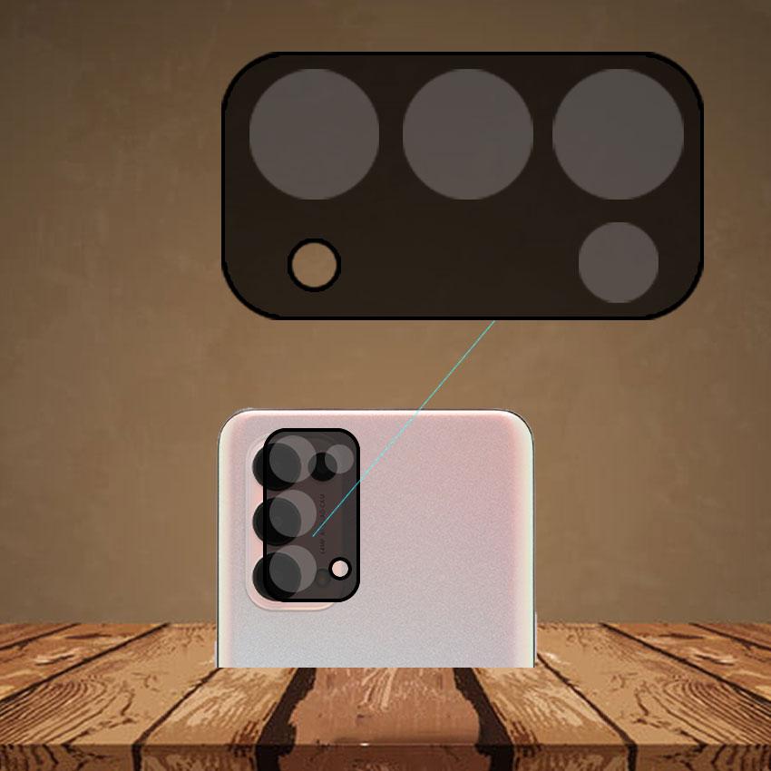 Miếng dán cường lực Camera cho Oppo Reno 5 trong suốt