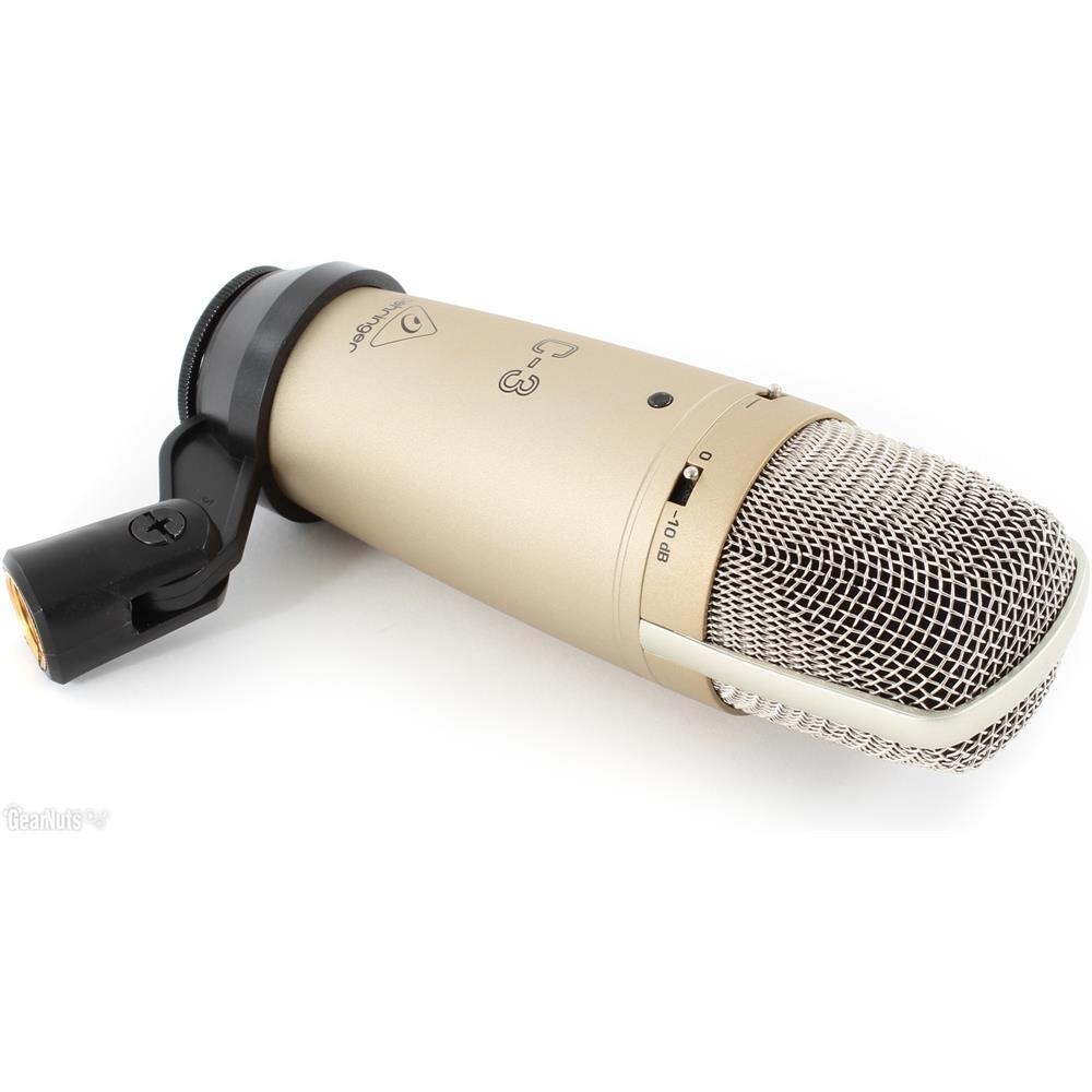 Behringer C-3 - Micro Condenser 48v Màng Thu Kép Lớn 16mm, 3 Hướng Thu - Hàng Chính Hãng