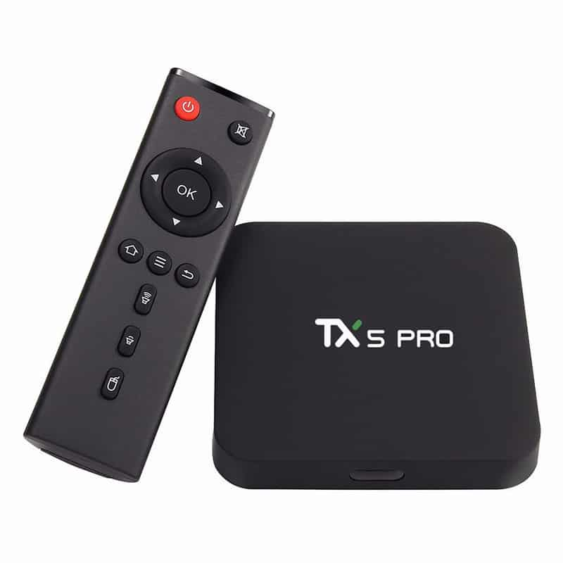TV Box Android TANIX TV TX5 PRO 4K - HÀNG NHẬP NHẨU