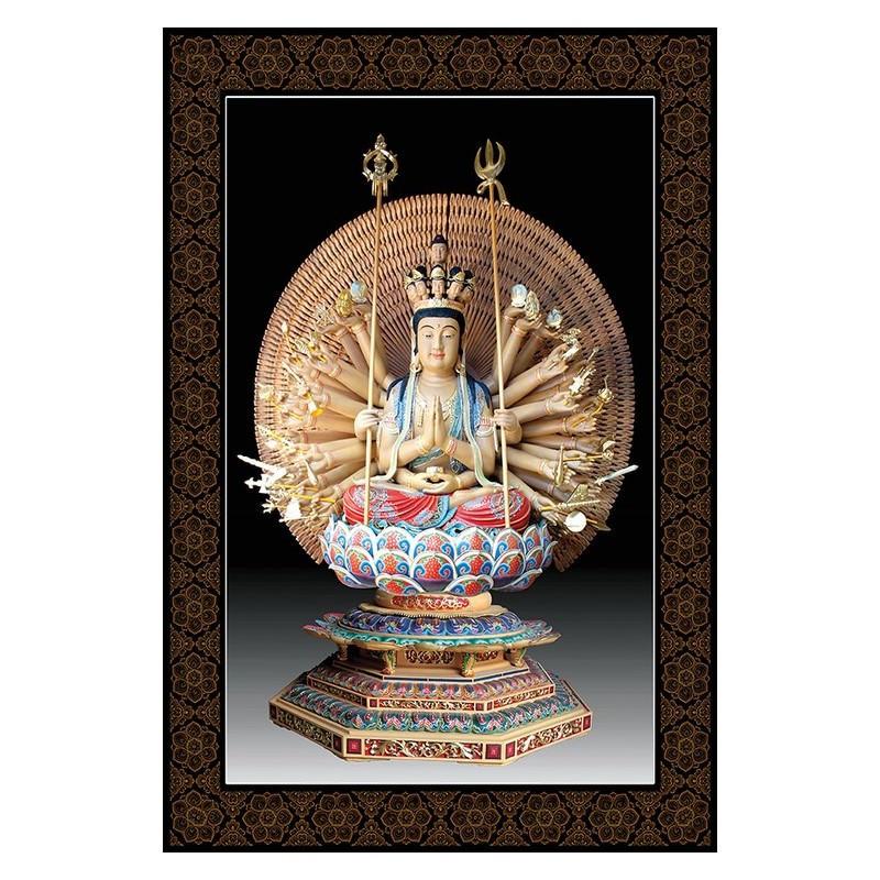 Tranh Phật Giáo Chuẩn Đề Bồ Tát 558