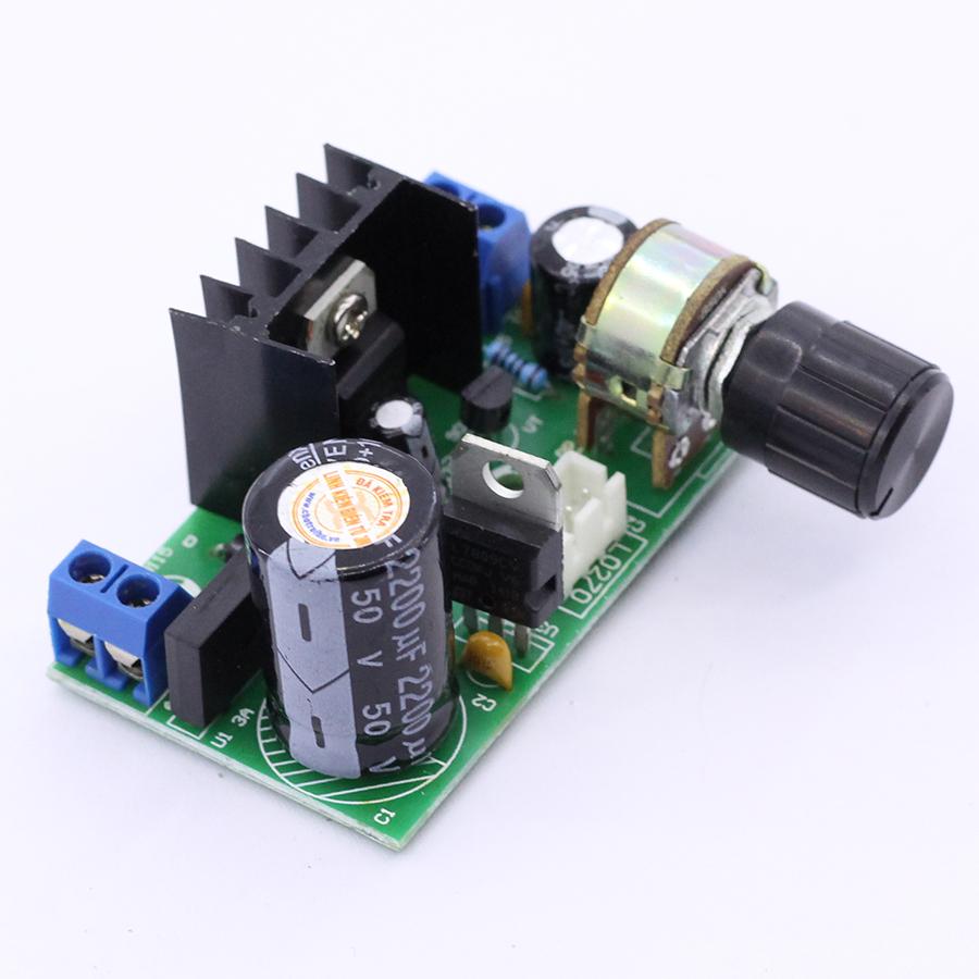 Module Nguồn LM317 1.25V-27V 1.5A