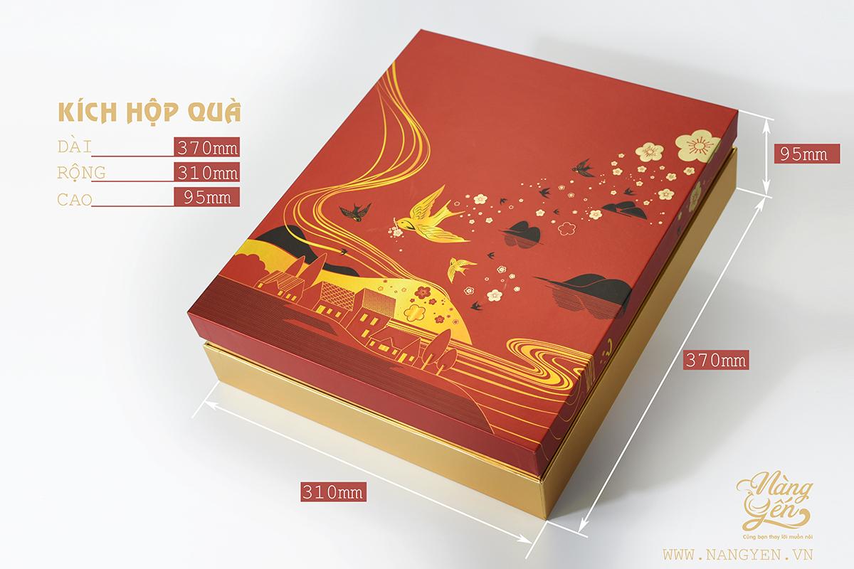 Bộ quà tặng Tết 2021   Set Yến Phúc Lộc Thọ (Gồm 100 gram tổ yến cùng các nguyên liệu đi kèm) vừa giúp chăm sóc sức khỏe vừa thể hiện ý nghĩa tốt đẹp   Yến sào Nàng Yến