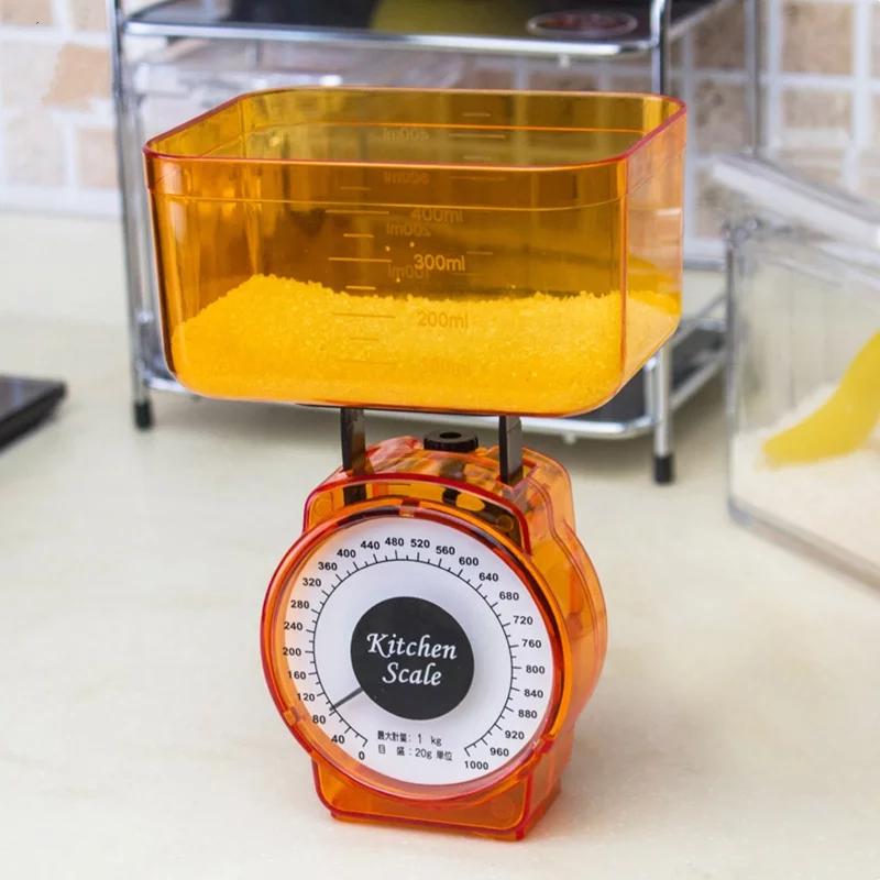 Cân nhà bếp mini, cân thực phẩm - Giao màu ngẫu nhiên tặng kèm móc treo siêu dính