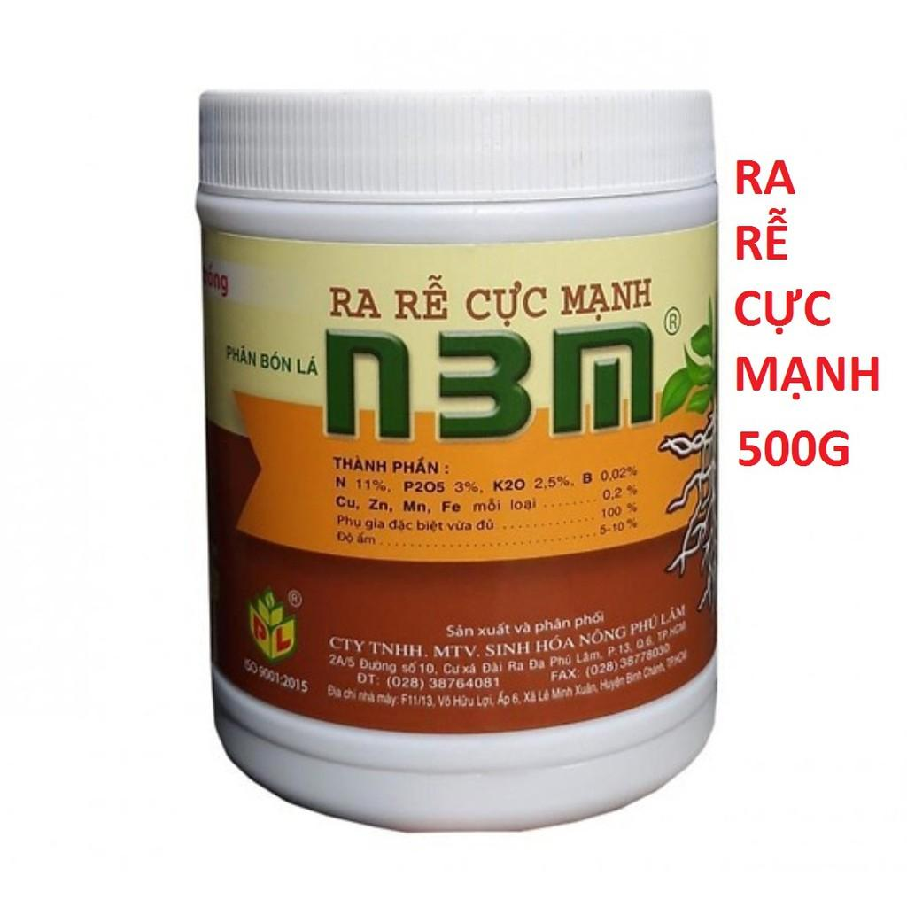 Phân bón lá kích rễ N3M siêu ra rễ cho cây trồng lọ 500g