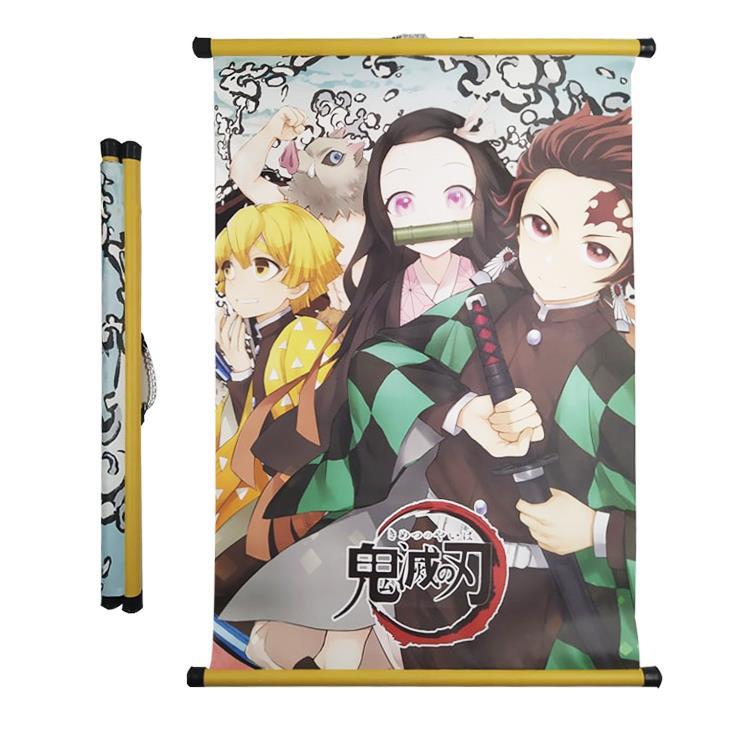 Tranh treo vải 40x60cm hình Anime/games Honkai Impact 3rd  dùng trang trí tường, decor phòng ngủ, phòng học
