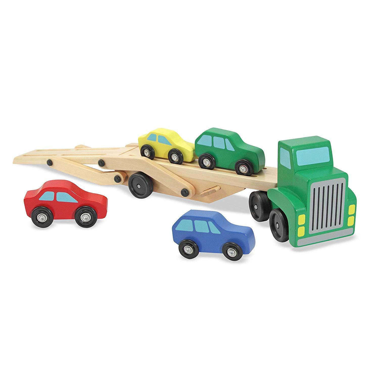 Mô hình xe tải 2 tầng màu Xanh