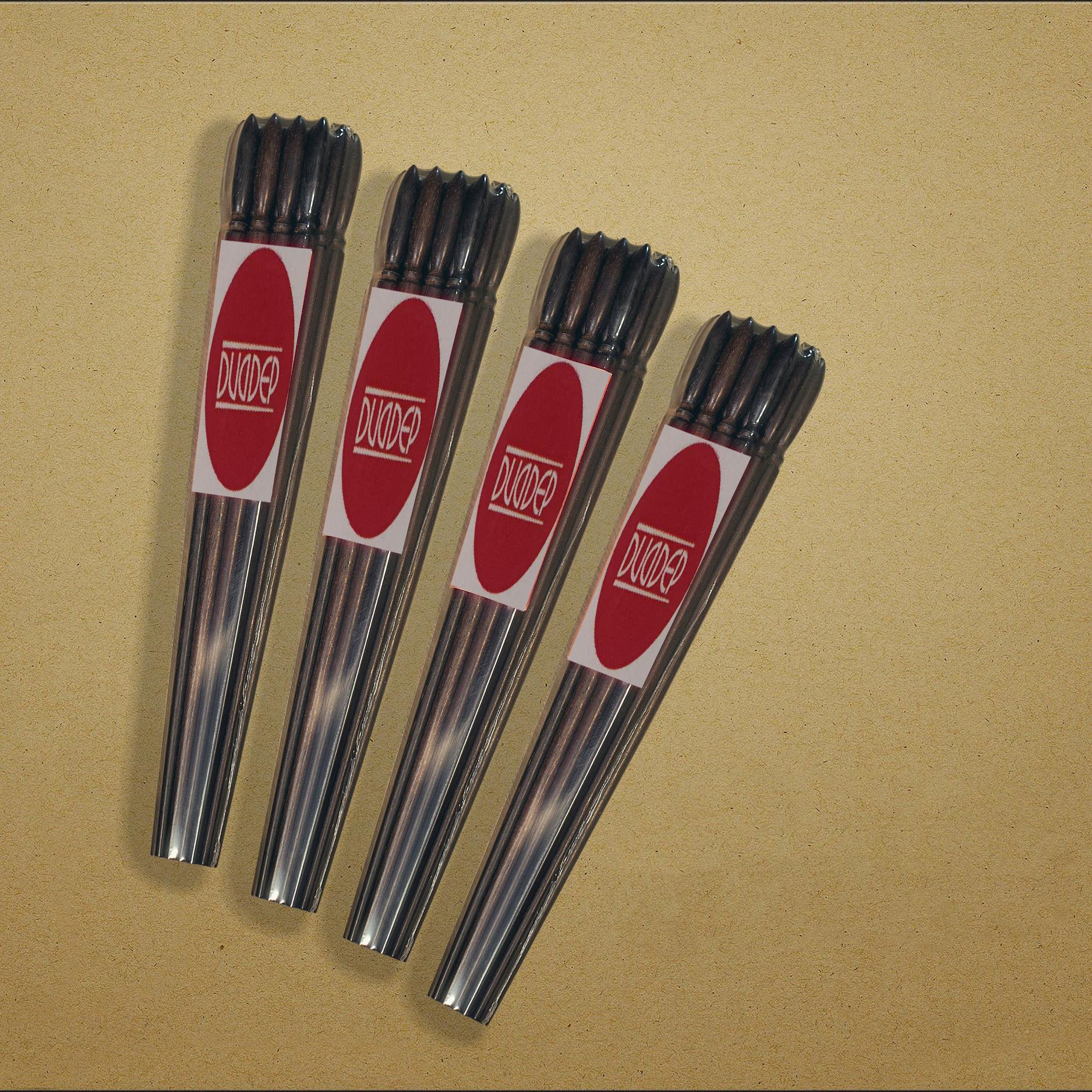 40 đôi đũa gỗ TRẮC không nhuộm màu không mùi gỗ trần mộc tự nhiên