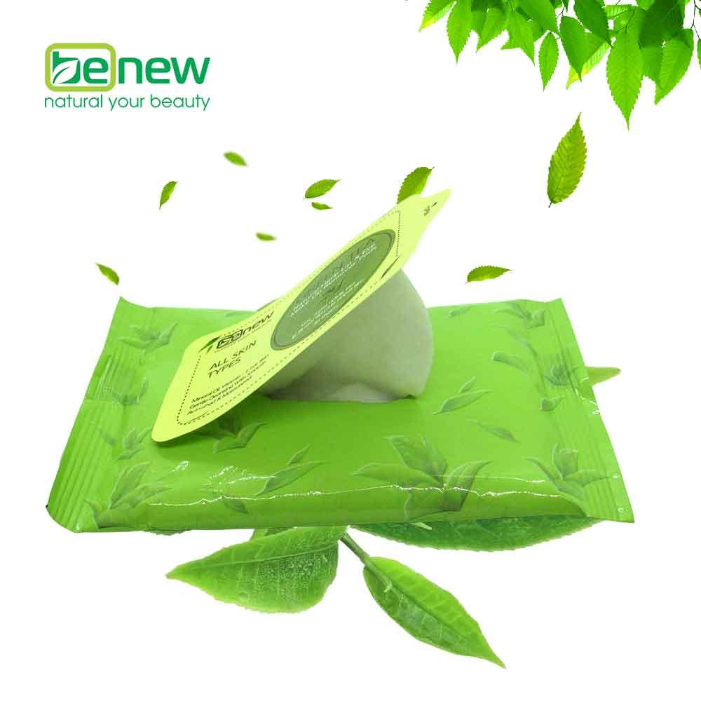 Khăn tẩy trang dưỡng ẩm dịu nhẹ Benew Make Up Remover Packs Hàn Quốc 45g Kèm móc khoá