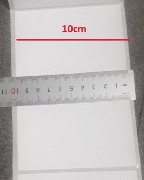 350 Tờ giấy decal nhiệt in đơn hàng TMĐT , khổ 100mm x 150mm cỡ A6
