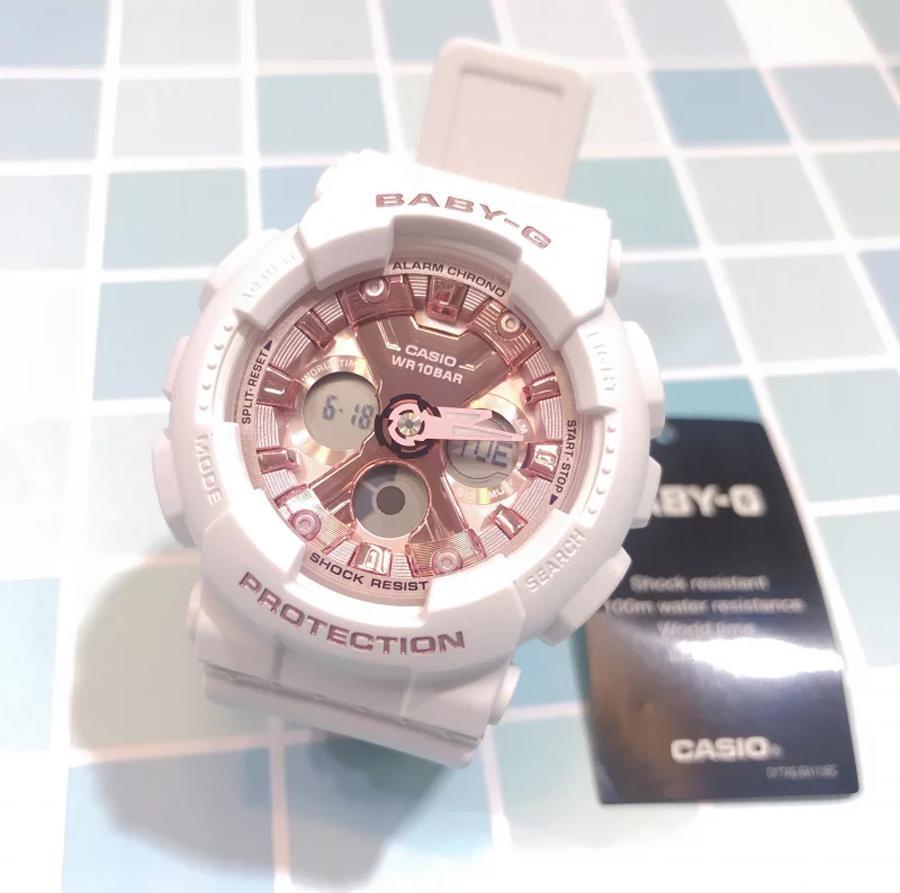 Đồng hồ nữ dây nhựa Casio Baby-G chính hãng BA-130-7A1DR