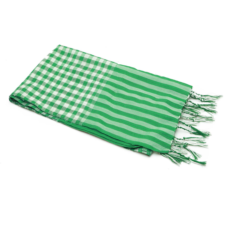 Khăn rằn thời trang Green Scarf 40x150cm (Xanh lá)