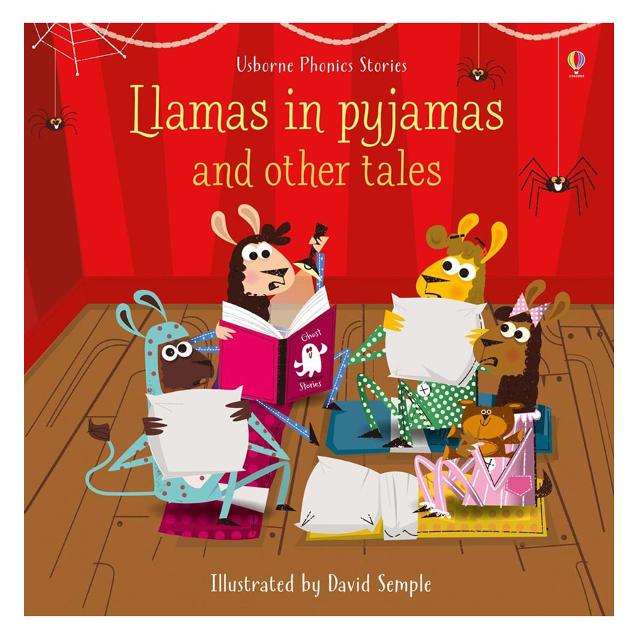Sách tiếng Anh - Usborne Llamas in pyjamas and other tales
