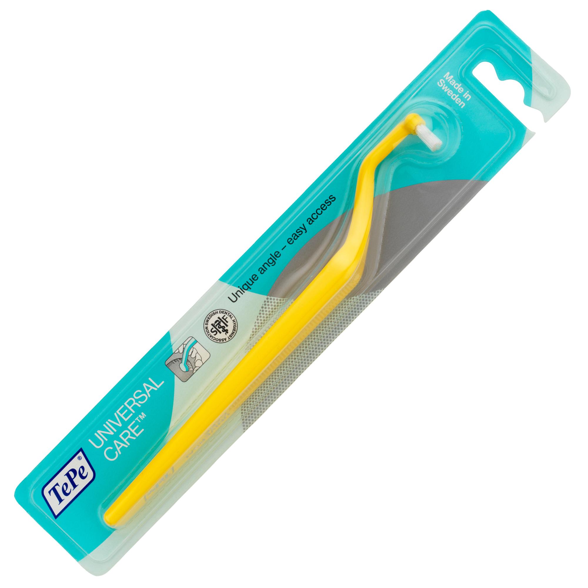 Bàn chải đánh răng đầu vòm dùng cho răng implant Tepe Implant Care nhiều màu